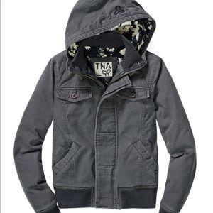 SOLD- Aritzia TNA canvas Maverick jacket Size XS